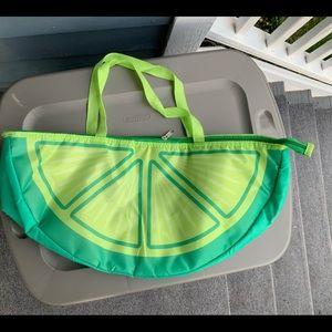 Handbags - LIME drink chiller/cooler